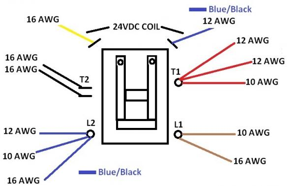 ac contactor wiring  auto electrical wiring diagram •