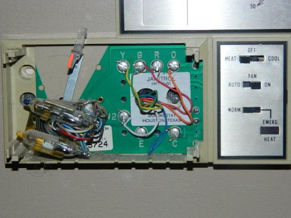 Janitrol Thermostat Wiring Diagram - Introduction To Electrical ...