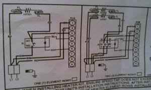 Wiring to heat strip for heat pump system  DoItYourself