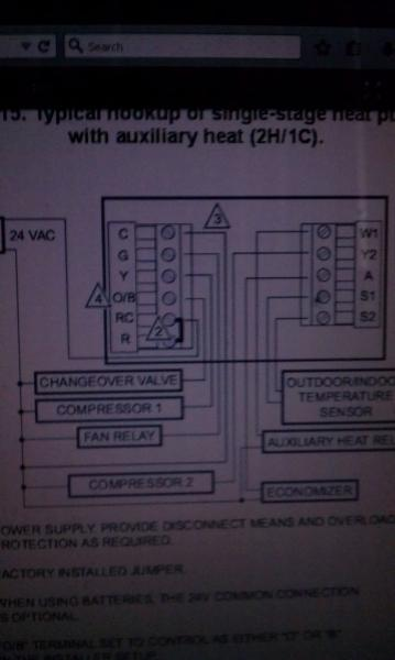 Wiring For For Honeywell Thermostat