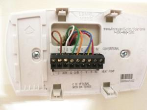 Wire Thermostat to use Gas on Dual Fuel HVAC  DoItYourself Community Forums