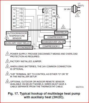 Trane Thermostat Wiring  DoItYourself Community Forums