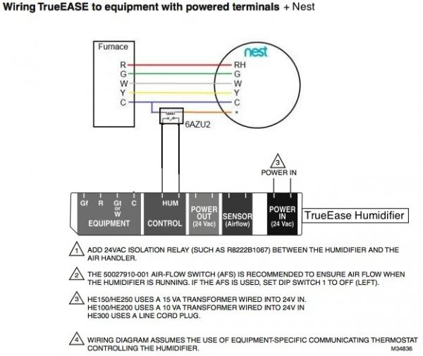 Nest Thermostat Dehumidifier Wiring Diagrams. Electronic Thermostat on