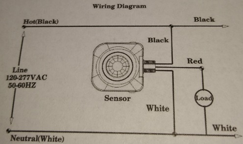 motion detector wiring help  doityourself community forums