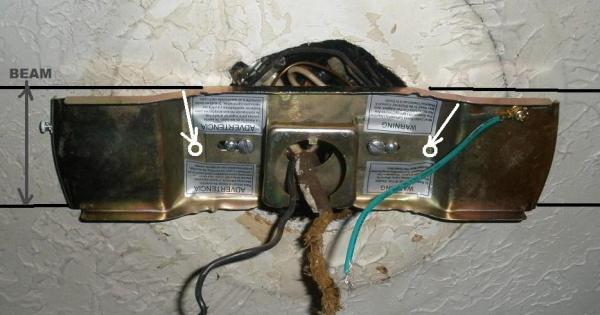 Installing A Ceiling Fan Without Joist Www