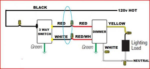 Lutron Dimmer Wiring Diagram Way Lutron Maestro Way Dimmer - Wiring diagrams 3 way switch