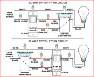 Problem with Garage Lights and Two ThreeWay Light