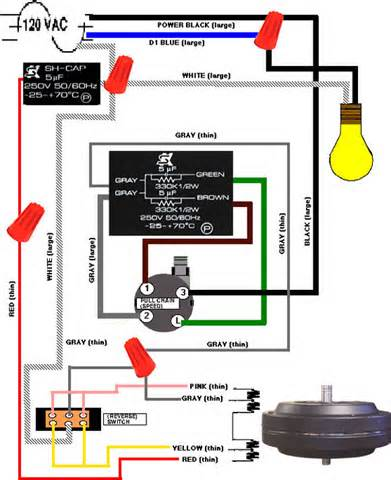 hunter fan light switch wiring diagram wiring diagram wiring diagrams for a ceiling fan and light kit do it yourself