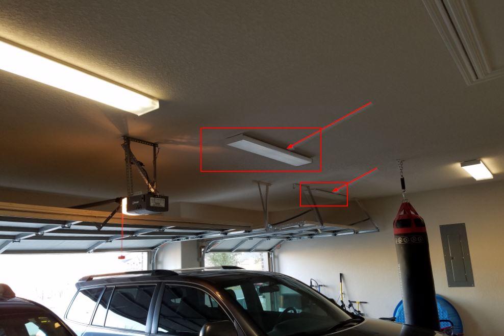 Garage Ceiling Lights Went Out Breaker Or Light Bulbs