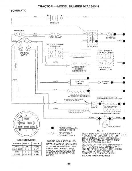 917270760 Craftsman Wiring Diagram Model. Wiring Diagrams ...