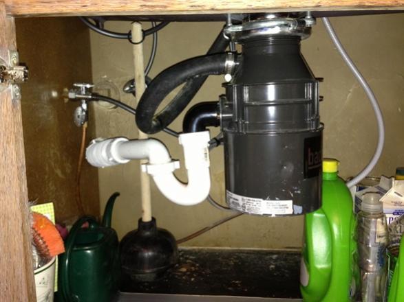 new kitchen sink drain problem