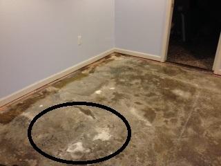 uneven concrete floor for carpet tiles