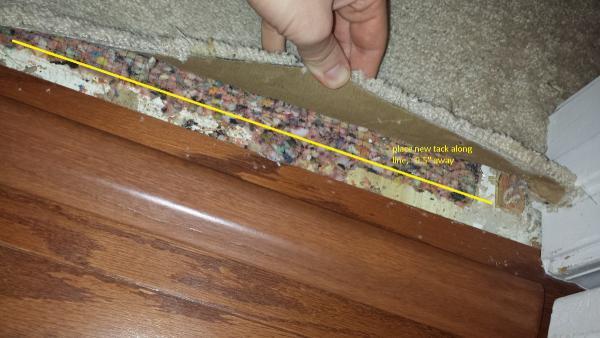 Installing Transitions Against Carpet Doityourself Com