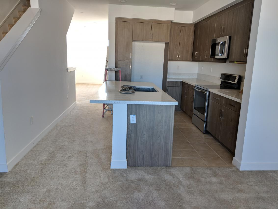 install laminate over tile and remove
