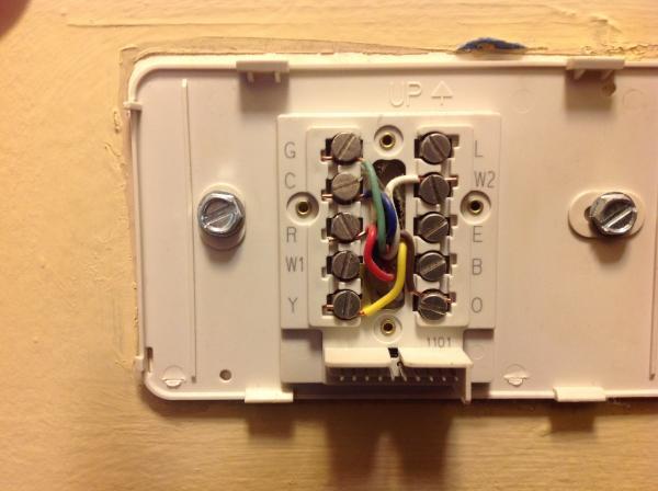 upgrading honeywell thermostat  doityourself community