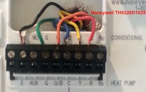 Honeywell TH8320WF Heat Pump Uses Aux Heat Only  DoItYourself Community Forums