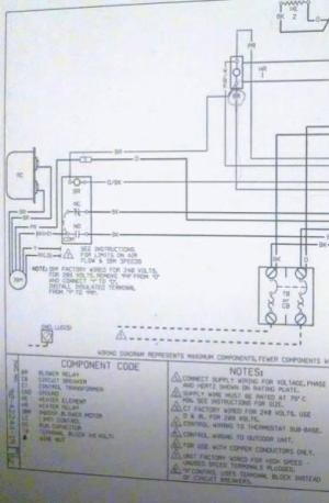 Wiring assistance for RUUD UBHC14J06shd to Honeywell