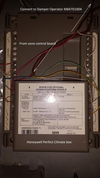 Converting From Honeywell Pc Wiring To Conventional
