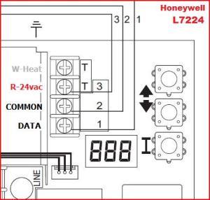 Wiring a new Honeywell Thermostat to Honeywell Aquastat