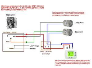 Wire thermostat to control zone damper?  DoItYourself