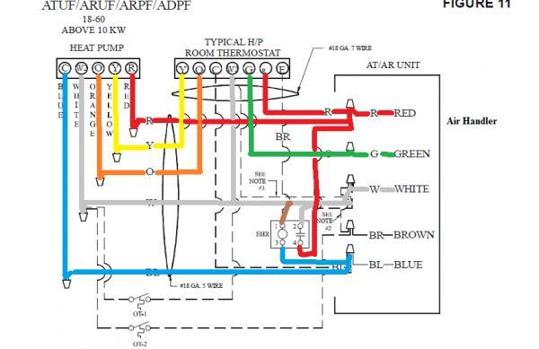 43026d1418151572 wiring honeywell 7500 thermostat no heat goodmanarufwiringdiagram?resize\=600%2C389 home thermostat wiring diagram goodman thermostat wiring diagram honeywell thermostat wiring diagram 4 wire at alyssarenee.co