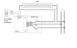 Thermostat conversion from 120v to 24v for NEST