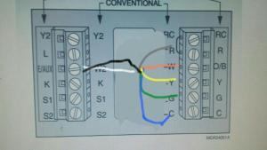 Heat pump thermostat wiring  DoItYourself Community