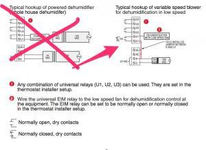 Wiring HW Prestige IAQ and new Trane XL16i for dehumidification?  DoItYourself Community Forums