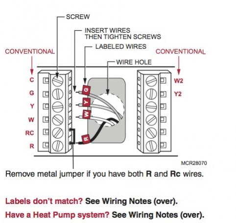 52729d1435805160 replacing honeywell ct3611 rth7600d thermostat lennox heat pump system rt7600 conventional wiring diagrams lennox thermostat wiring diagram trouble matching Heat Pump Thermostat Wiring Diagrams at gsmx.co