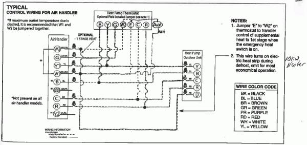 54963d1440259155 connecting thermostat rheem heat pump system rheem thermostat wiring diagram?resize=600%2C283 honeywell thermostat wiring differences hvac diy chatroom home 2 wire thermostat wiring diagram heat only at gsmx.co