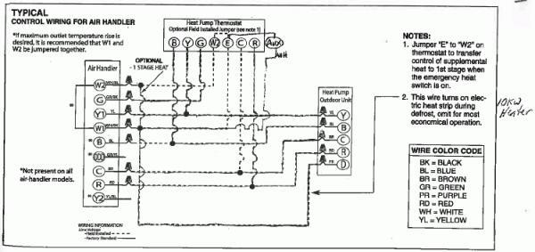 ruud package unit heat pump wire diagrams  2wire humbucker
