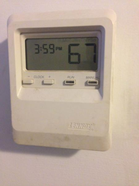 Help Identifying This Lennox Thermostat