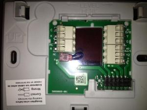 Help installing a Honeywell RTH9580WF Thermostat  DoItYourself Community Forums