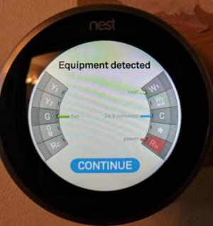Nest no power to Rh with mon connected  DoItYourself