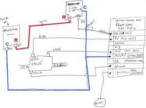 Thermostat C wire to RobertShaw 780715 ICU  DoItYourself