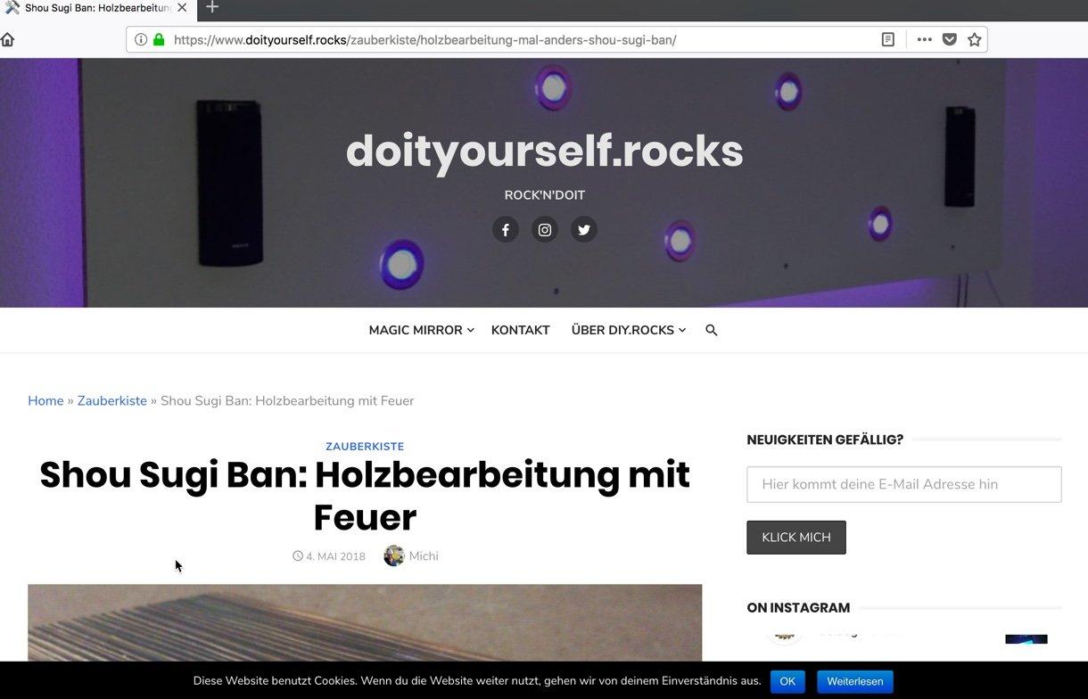 DSGVO - Ich hab da mal was gebastelt — doityourself.rocks