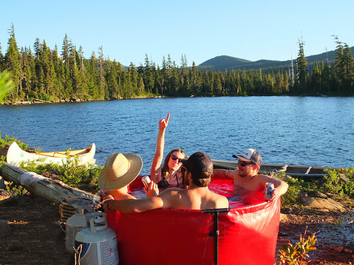 Portable Soaking Tub Bath