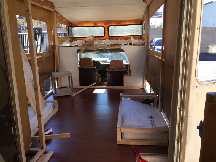 1983 Toyota Sunrader Motorhome Renovation By RV Newbies