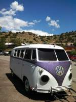 VW Bus conversion with unique theme