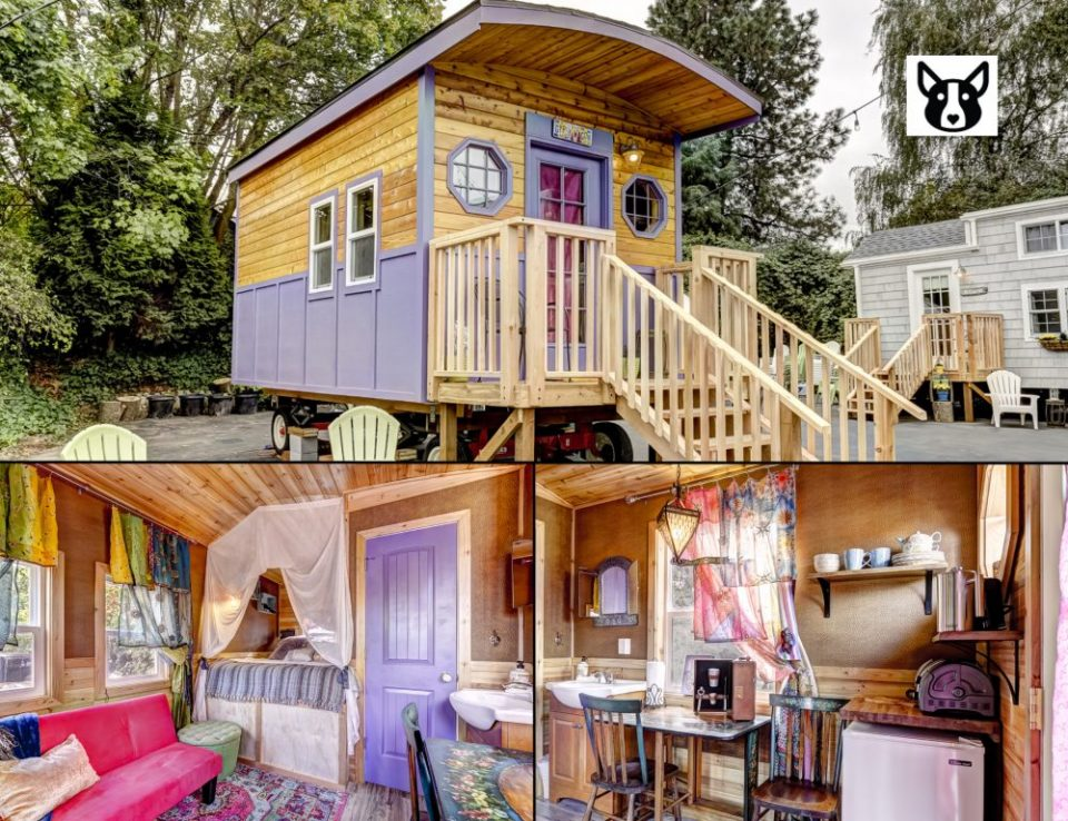 Tiny Digs In Portland Oregon Is A Hotel Of Tiny Houses