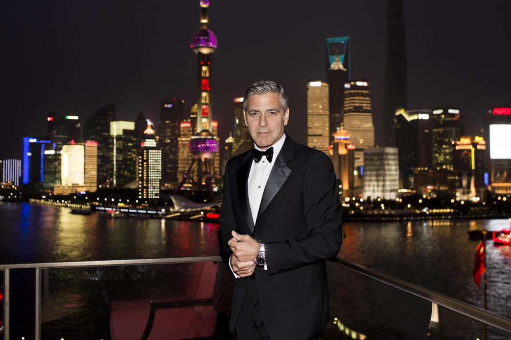 20140516_George Clooney joins OMEGA in Shanghai_1