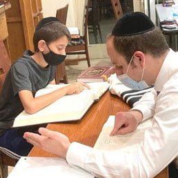 Boys Night Seder with the Kollel