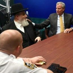 WATCH: NYC Mayor DeBlasio And NYPD Chief Visits Boro Park Following String Of Hate Crimes