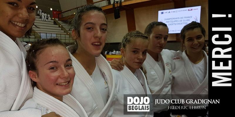 Championnat de France : les cadettes progressent