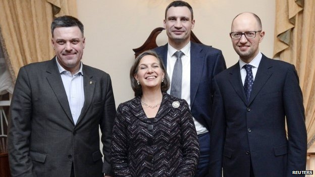 Image result for nuland with right sector