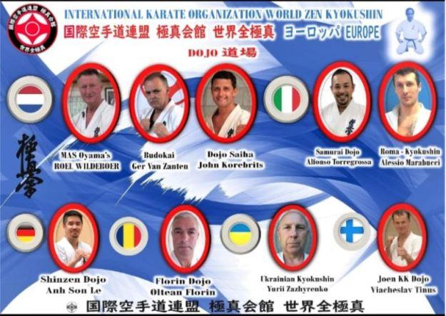 DOJO's International Karate Organization World Zen kyokushin