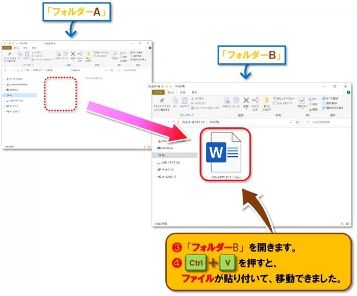 ショートカットキー【Ctrl+X】