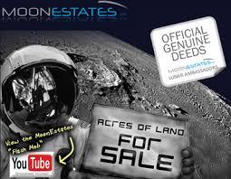 Ide Bisnis Gila : Jual Properti di Bulan !!