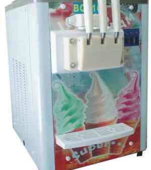 Alat Mesin Soft Ice Cream : Lembut, Variatif, Mudah Dioperasikan