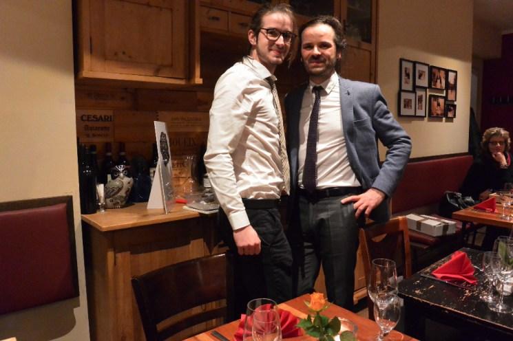 """Mario und Vanni Moscariello sagen """"Danke"""" für einen tollen Abend!"""